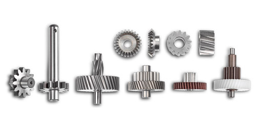 Spur gears and helical gears