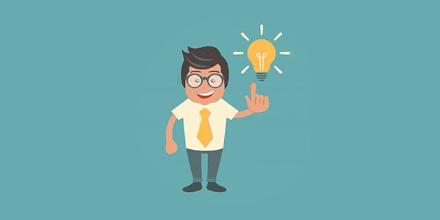 Mai rinunciare a sviluppare un'idea che si ritiene buona. Almeno proviamoci!