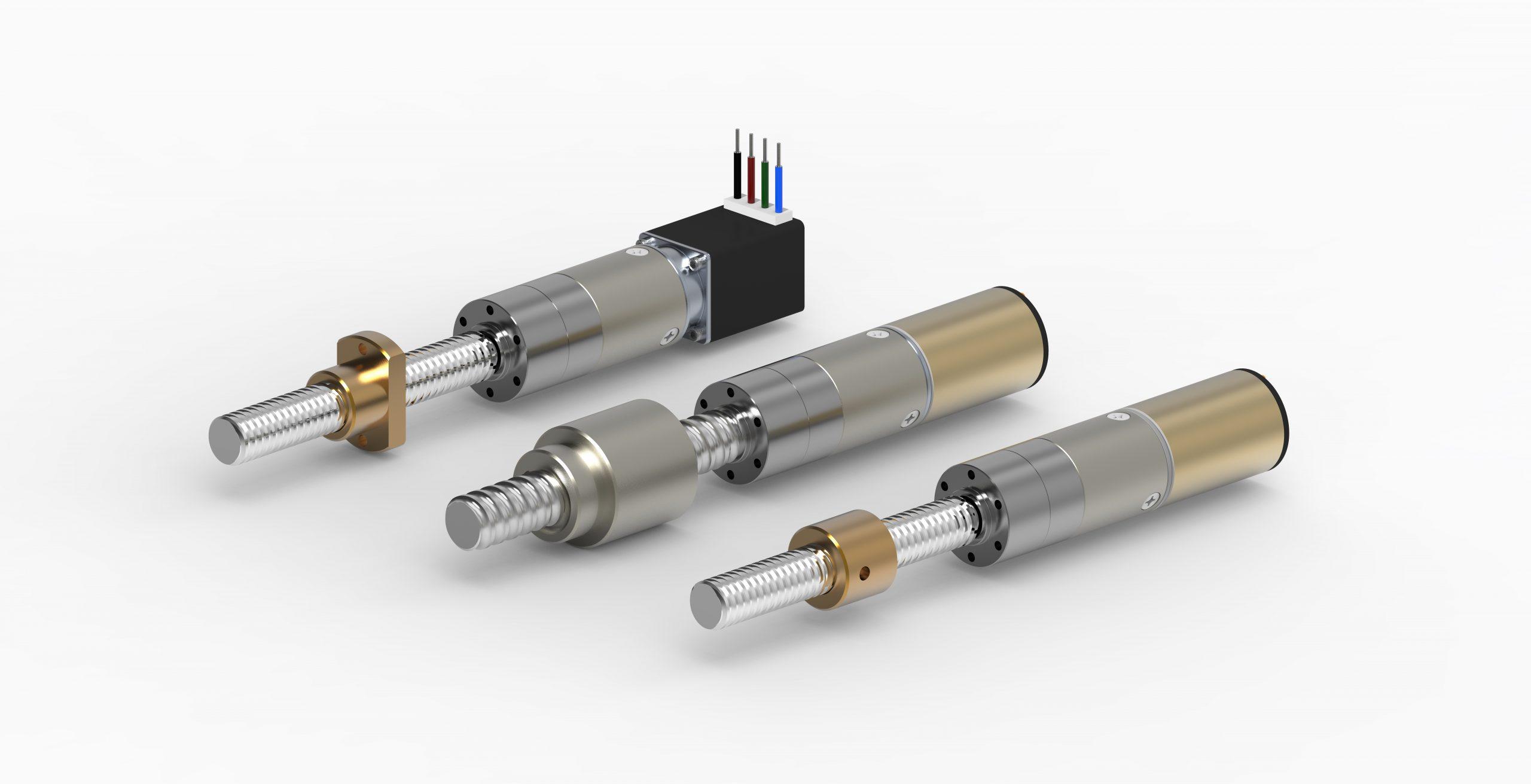 attuatore elettrico lineare diametro 22